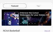 Cut-out wallpapers now available in Samsung's Galaxy theme store