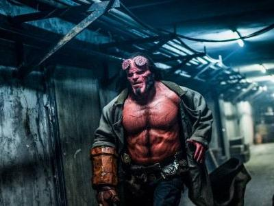 First look at more violent and bloody Hellboy in action