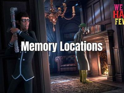 We Happy Few Memory Locations Guide