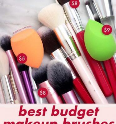 These 4 Brands Make the Best Budget Makeup Brushes