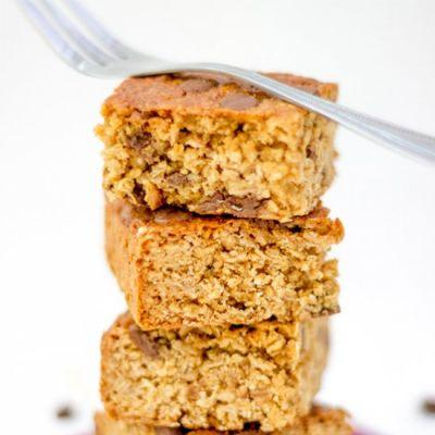 Healthy Chocolate Chip Flapjack