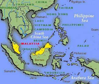 Maps Of Malaysia And Surrounding Countries
