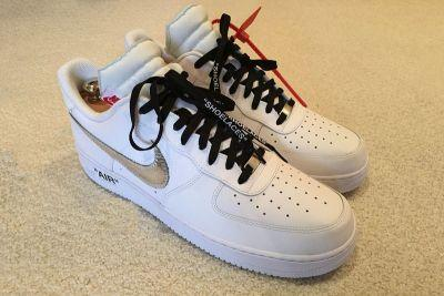 LeBron James & Kevin Durant Rock a Pair of Unreleased Off-White™ x Nike Air Force 1 Shoes