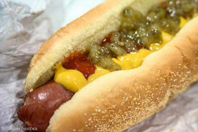I might have discovered the best hot dog in America - and it's not where you'd expect