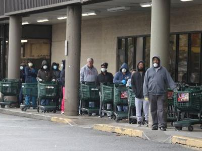 At least 4 grocery store employees across the US have died of the coronavirus. Their union is demanding sanitary working conditions, protective gear, and hazard pay for these essential workers