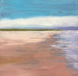 """Beach Scene, """"Tranquility,"""" by Amy Whitehouse"""