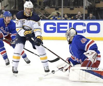 Rangers backup does best Lundqvist impersonation in win