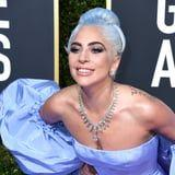 Is There a Deeper Meaning Behind Lady Gaga's Blue Hair at the Golden Globes?