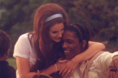 Lana Del Rey Dropped Two New Songs Featuring A$AP Rocky