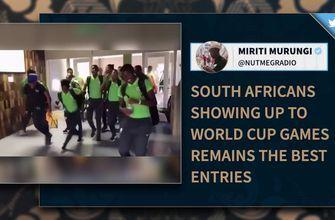 South Africa's exciting entrance to the stadium is what the FIFA Women's World Cup™ is all about