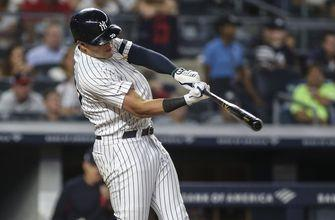 Indians held to 4 hits in 3-2 loss to Yankees