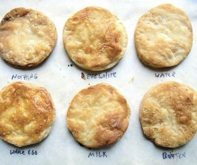 The perfect finish: Topping pie crust