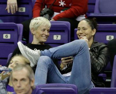 11 Tweets About Megan Rapinoe & Sue Bird's Relationship That Show Their Love Is Game On