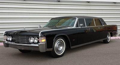 Ride Like The King of Cool In Steve McQueen's 1965 Lincoln Continental Limousine