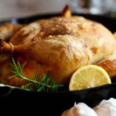 Simple Crispy Roast Chicken