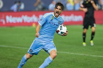 Even David Villa couldn't believe he scored this stunning world-class goal for NYCFC