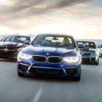 BMW M5 vs. Cadillac CTS-V, Mercedes-AMG E63 S, Porsche Panamera Turbo - Comparison Tests