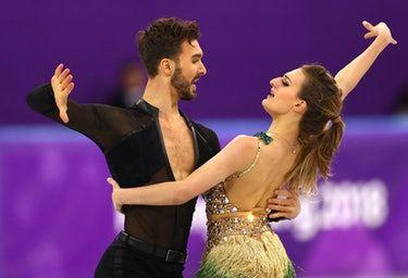 Gabriella Papadakis' Wardrobe Malfunction Can't Keep Her From Going For Olympic Gold