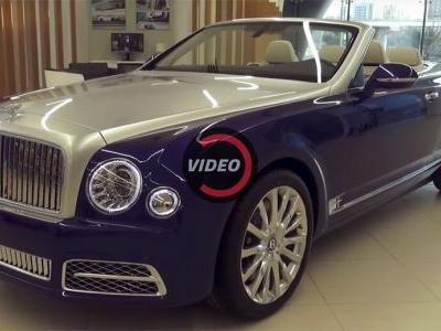 Did Bentley Just Reveal A New Mulsanne Convertible In Dubai?