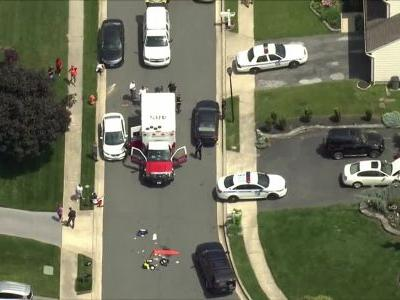 Police officer shot in Baltimore County