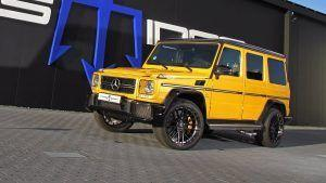 Posaidon Packed 850 Horses Into A Mercedes-AMG G63