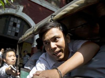 Myanmar evicts family of officer who testified on entrapment