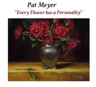 Antique Roses by artist Pat Meyer