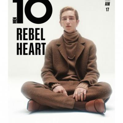 Cover Number 3 Of Issue 46 Of 10 Men Magazine, Rebel Heart, On Newsstands September 14th
