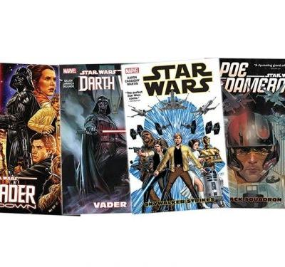 Celebrate The Last Jedi's release with 25 Star Wars graphic novels for $1 each