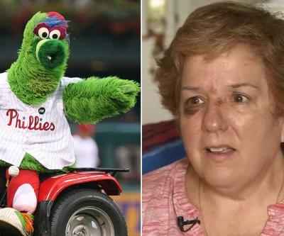 Phillies fan injured after Phanatic shoots hot dog into stands