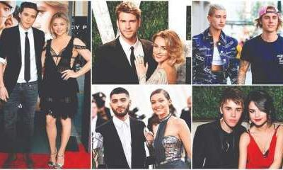 Celeb couples and the ex factor