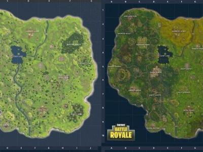 Fortnite: old map vs new map - where is the underground mine and other new locations?