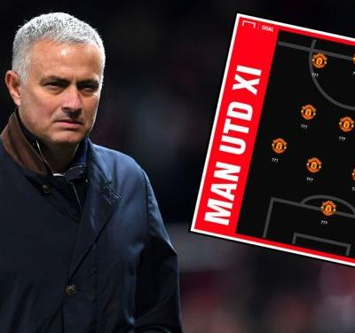 Mourinho admits he does not know Man Utd line-up to face Arsenal