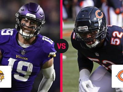 Vikings vs. Bears: Score, live updates from Sunday night game in Chicago