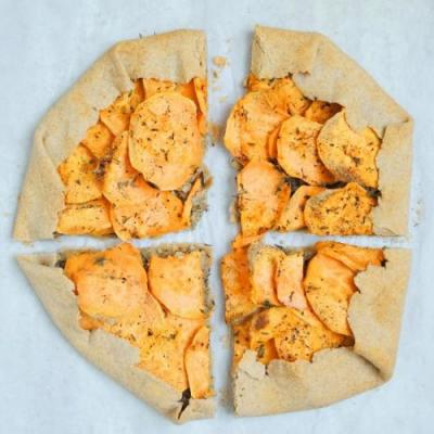 Whole-Grain Galette