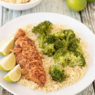 Oven Baked Lime Chicken