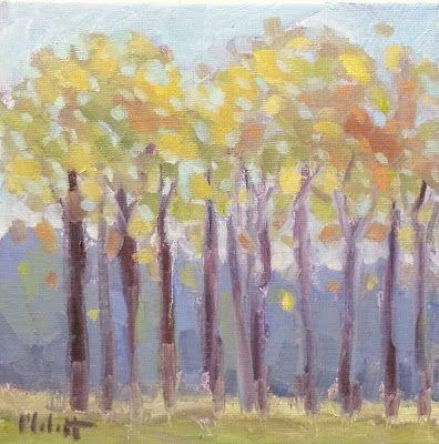 Autumn Landscape Original Art Heidi Malott Oil Paintings