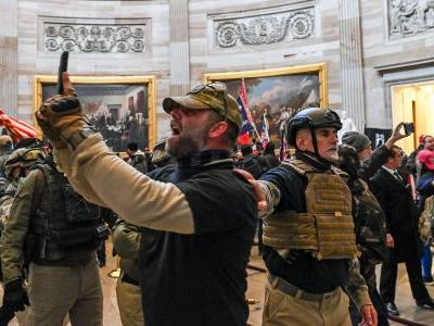 Nearly 1-in-5 of the rioters charged in Capitol insurrection are military veterans, study shows