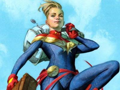 Captain Marvel Gets NEW Origin Story Ahead of Movie