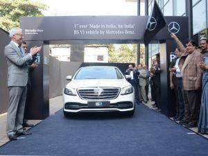 The Mercedes-Benz S-Class is BSVI Ready