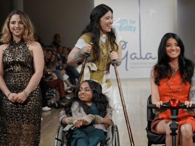 Anna Sui Brought Color and Whimsy to the Cerebral Palsy Foundation's Third Annual Design for Disability Fashion Show