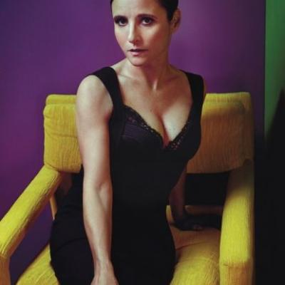 Julia Louis Dreyfus took home yet another Emmy tonight.Photo by