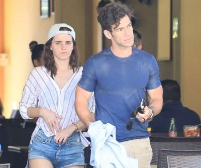 Emma Watson and her new beau kiss in Mexico