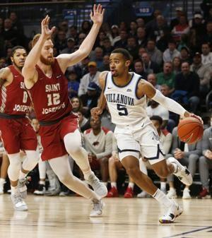 Paschall, No. 21 Villanova beat Saint Joseph's 70-58
