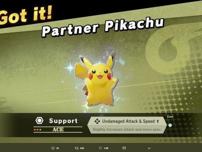 Super Smash Bros. Ultimate: Pokemon Let's Go saves will unlock Pikachu and Eevee Spirits at launch