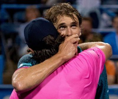 Alexander Zverev beats brother Mischa to advance to Citi Open quarterfinals
