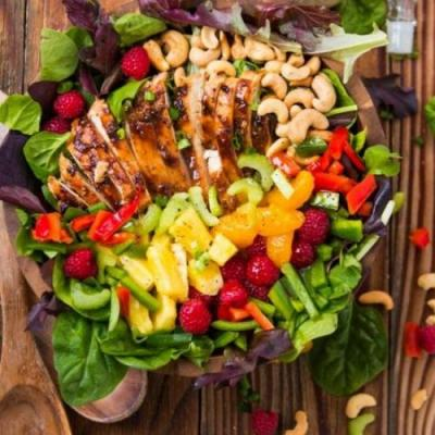 EASY TERIYAKI CHICKEN SALAD