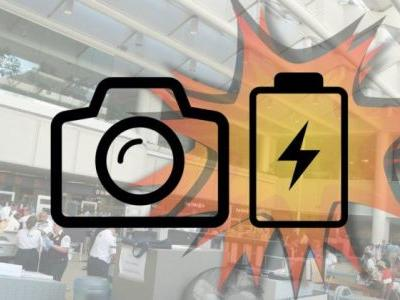 Camera Battery Explodes at Airport, Sparking Panic