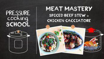 Marvelous Meats - Pressure Cooking School