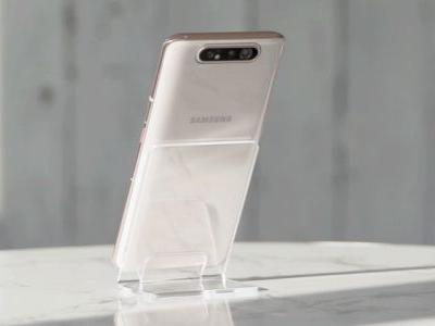 Samsung goes crazy with a notchless, full-screen display and sliding, rotating triple camera